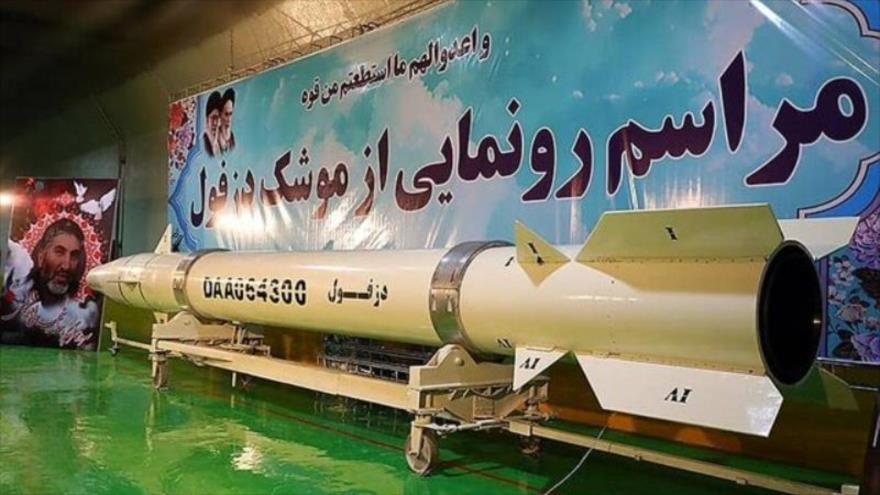 Vídeo: Irán presenta planta subterránea de misiles balísticos