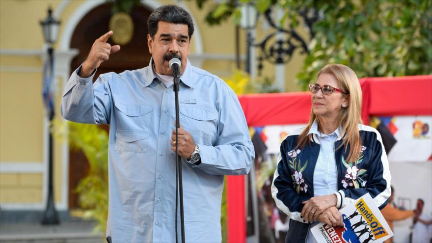 Maduro: Venezuela saldrá victoriosa ante intentona golpista de EEUU