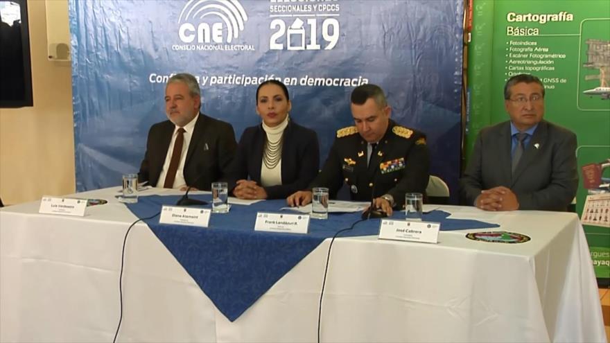 Arranca controversial campaña electoral en Ecuador