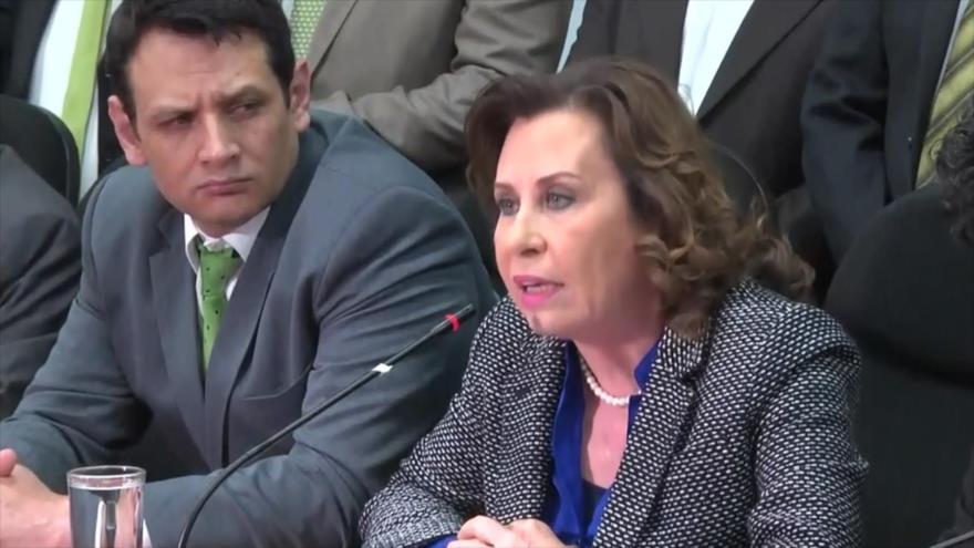 Guatemala acusa a la UNE de financiarse ilícitamente
