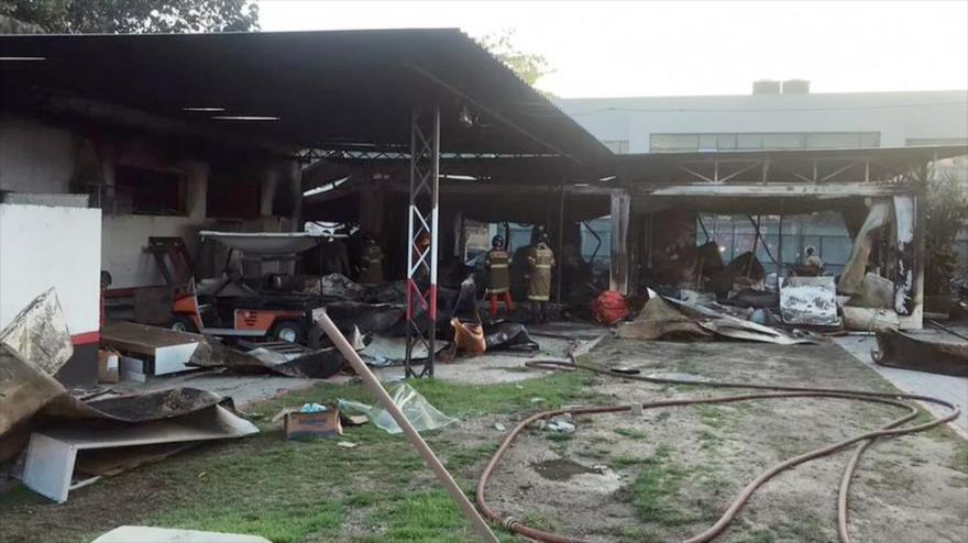 Incendio en un club de fútbol en Río de Janeiro deja diez muertos