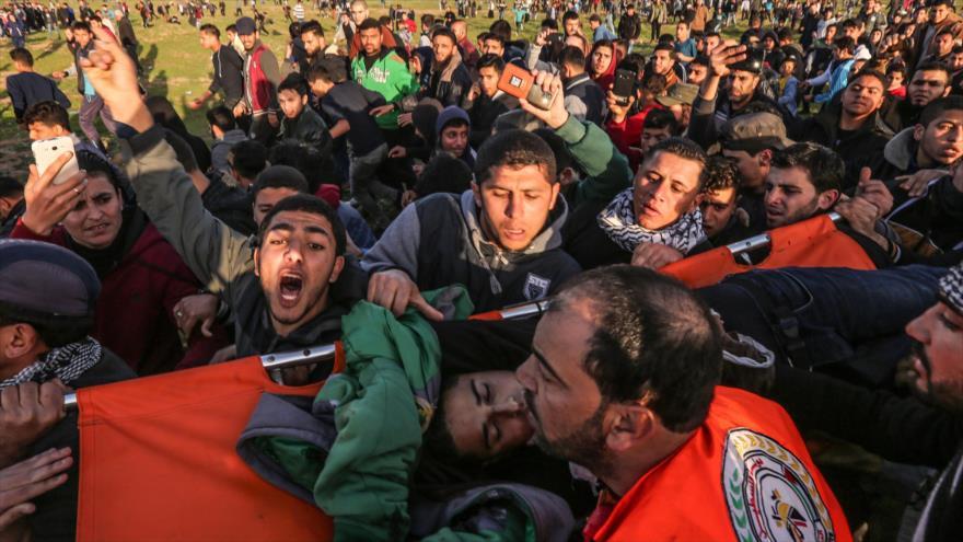 Soldados israelíes matan a tiros en Gaza a dos jóvenes palestinos