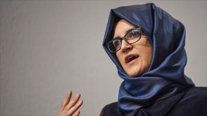 Novia de Khashoggi insta a Trump a cambiar su actitud