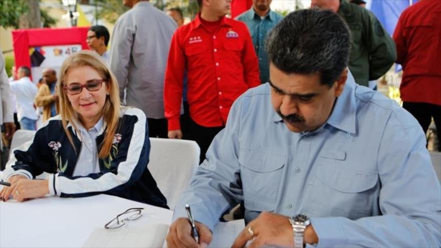 Maduro a estadounidenses: Washington enviará a sus hijos a morir