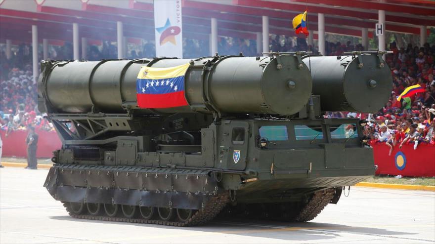 Foto: Venezuela prepara sistemas S-300 ante eventual ataque de EEUU