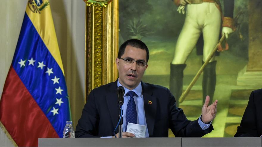 Arreaza: EEUU está en la primera línea del golpismo en Venezuela