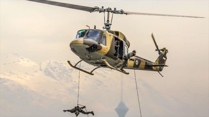 Irán exhibe su gran poderío aéreo