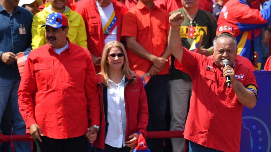 Diosdado Cabello asegura que el presidente Maduro cumplirá su mandato