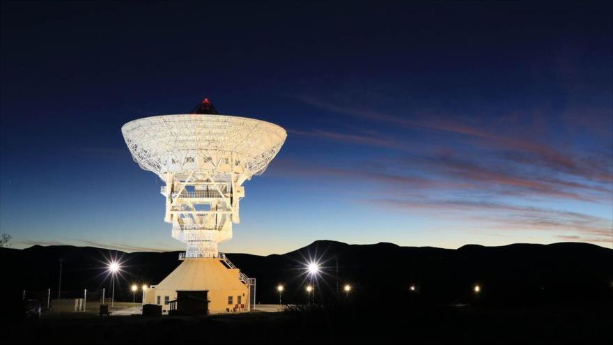 La estación espacial china ubicada en Bajada del Agrio, en la provinica argentina de Neuquén.