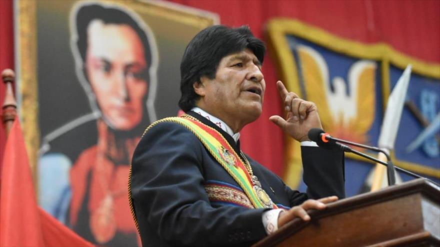 Morales: Guaidó está llamando a una guerra en América Latina