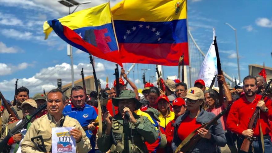 Estudio: 80 % de venezolanos rechaza cualquier intervención en su país