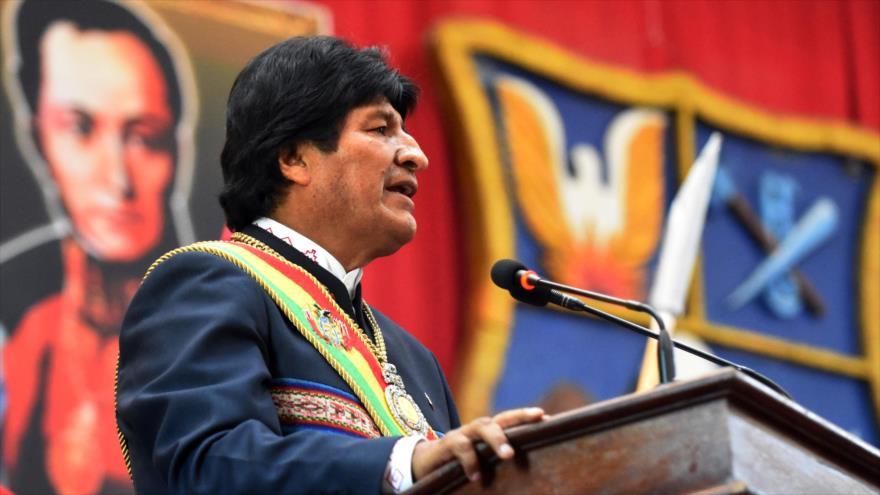 Morales deplora apoyo de algunos países europeos al golpe en Venezuela