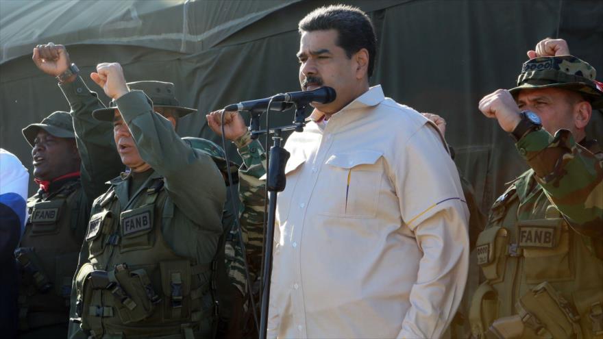 Fuerzas venezolanas inician ejercicios militares ante amenazas de EEUU