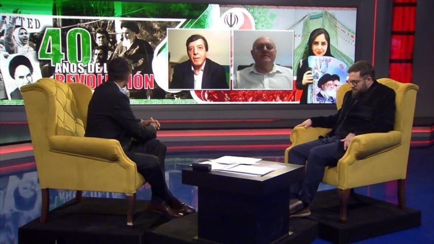 Programa de HispanTV por 40.º aniversario de Revolución de Irán