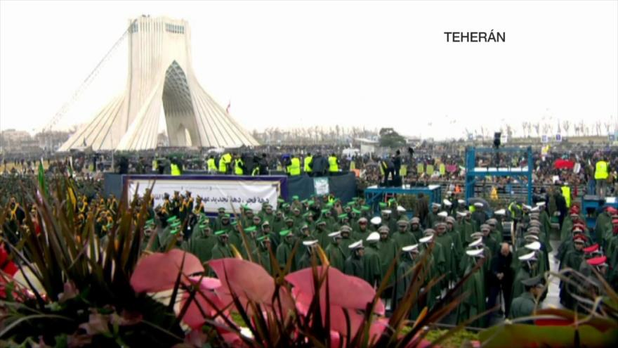 Revolución Islámica de Irán. Discurso de Rohani. Crisis en España