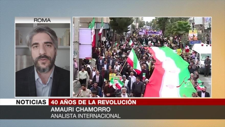 Chamorro: Irán y su Revolución han superado todo tipo de acoso