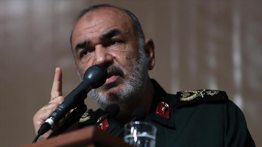 El subcomandante del Cuerpo de Guardianes de la Revolución Islámica (CGRI), el general de brigada Hosein Salami.