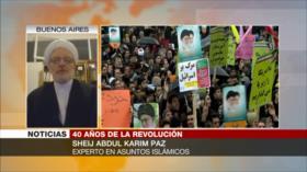 Paz: Revolución Islámica de Irán terminó con dominio de Occidente