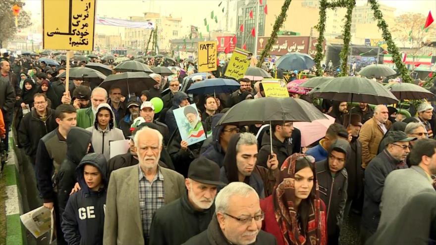 Millones de iraníes celebran aniversario de Revolución Islámica | HISPANTV