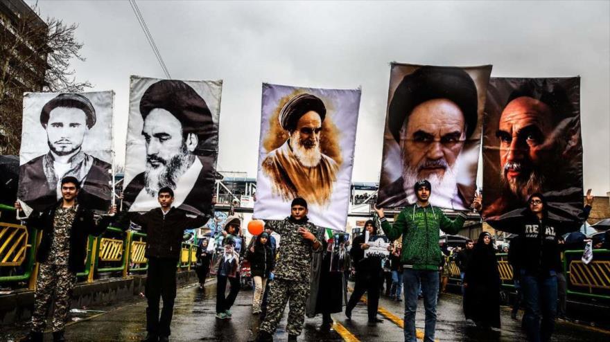 Marchas por el 40.º aniversario de la Revolución Islámica de Irán, Teherán, 11 de febrero de 2019. (Foto: IRNA)