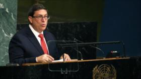 Cuba denuncia intentos de EEUU para legalizar ataque a Venezuela