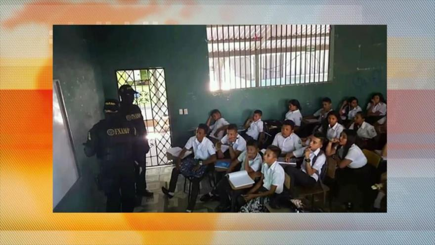 Honduras: rechazan adoctrinamiento policial y militar en escuelas
