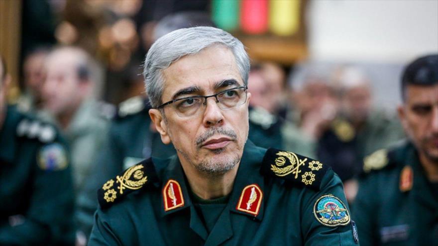 El jefe del Estado Mayor de las Fuerzas Armadas de Irán, el general de división Mohamad Hosein Baqeri.