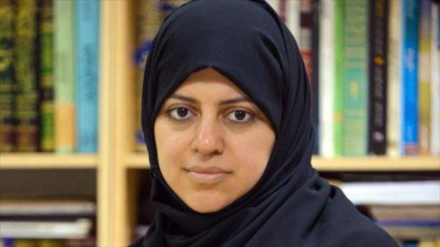 La activista saudí pro derechos de la mujer Nasima al-Sada.