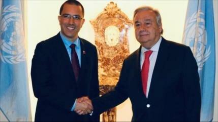 ONU, dispuesta a ayudar a Gobierno venezolano a superar problemas