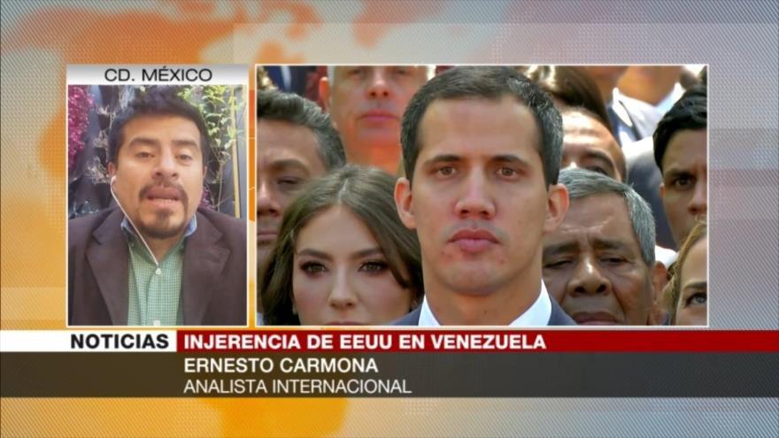 Carmona: EEUU podría entregar armas a golpistas en Venezuela