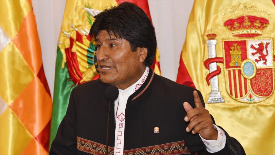 Morales: EEUU, bajo pretexto de democracia, busca petróleo de Venezuela