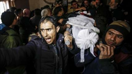 Menor palestino muere por heridas sufridas en protesta antisraelí