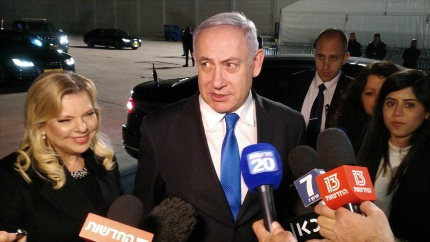 """Netanyahu reconoce que Israel actúa """"todos los días"""" contra Irán"""