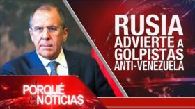 El Porqué de las Noticias: Irán ante Occidente. Aliados de Venezuela. Juicio a independentistas catalanes