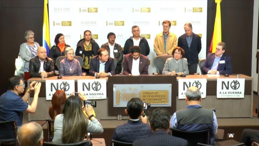Activistas rechazan la injerencia de Colombia en Venezuela