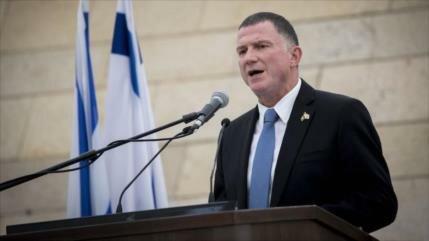 "Presidente del parlamento israelí llama a ""eliminar"" a Palestina"