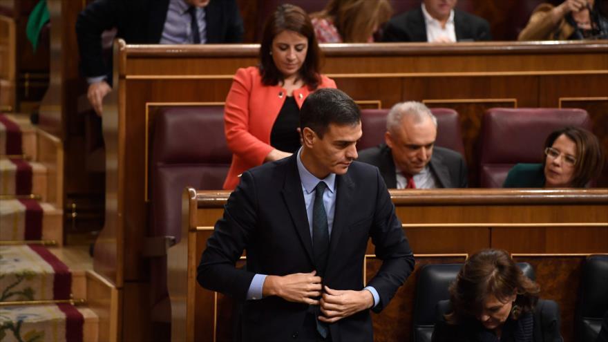 Congreso de España rechaza PGE del Gobierno para 2019