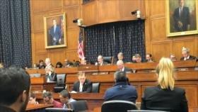 Irrumpen en el Congreso de EEUU: 'Quiten las manos de Venezuela'