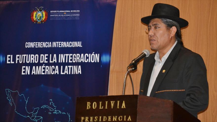 Bolivia: En vez de ayuda humanitaria, EEUU levante bloqueo a Venezuela