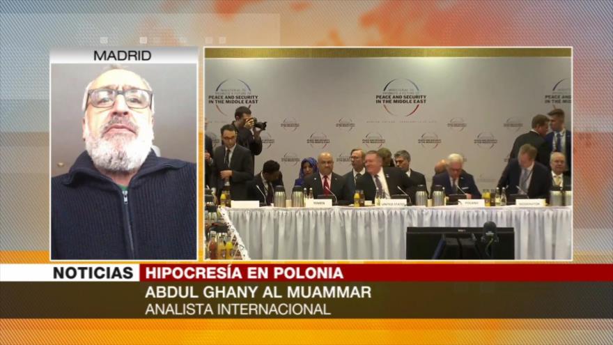 """Al-Muamar: Cumbre de Varsovia muestra """"bancarrota"""" que sufre EEUU"""