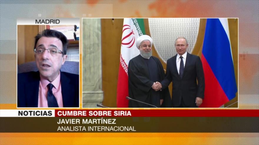 Martínez: Cumbre en Sochi garantiza integridad territorial de Siria