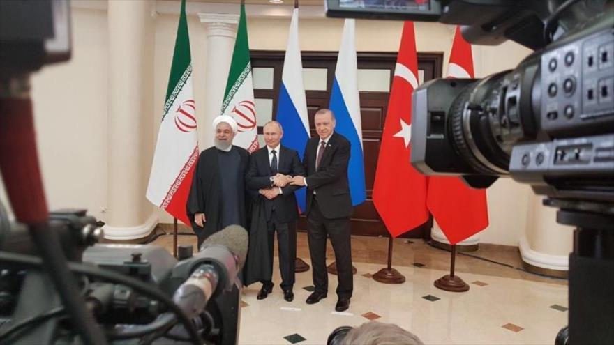 Irán tacha a Israel y EEUU de 'promotores de terrorismo' en Siria