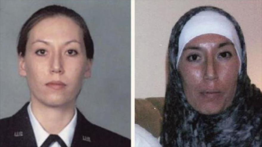 Monica Elfriede Witt, agente estadounidense, acusada de espiar para Irán.