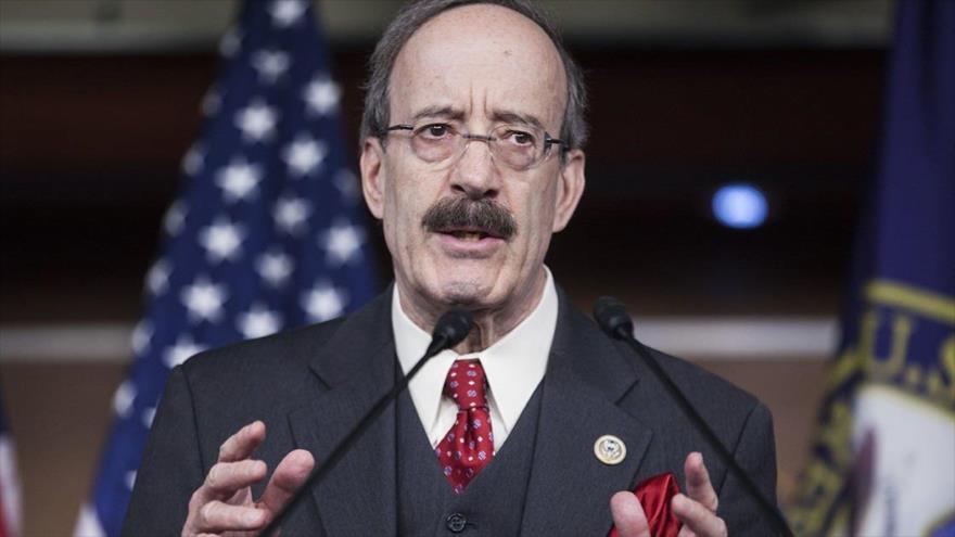 El presidente de la Comisión de Asuntos Exteriores de la Cámara de Representantes, Eliot Engel.
