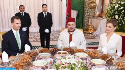 """IU de España critica al rey por viajar al """"tiránico"""" Marruecos"""