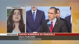 'EEUU dirige un atentado contra el hilo democrático en Venezuela'