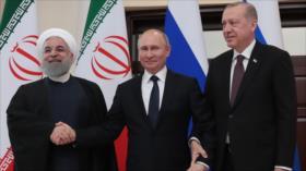 Irán, Rusia y Turquía insisten en proteger la soberanía de Siria