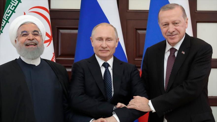 Cumbre de Sochi busca un arreglo para la crisis en Siria