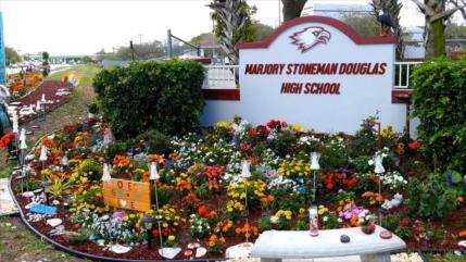 Se cumple un año de la masacre de Parkland que dejó 17 muertos