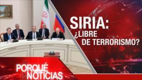 El Porqué de las Noticias: Cumbre sobre Siria. Crisis en Venezuela. Caótico Brexit